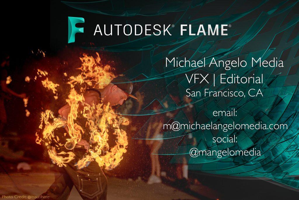 Michael Angelo Media VFX Editorial Contact